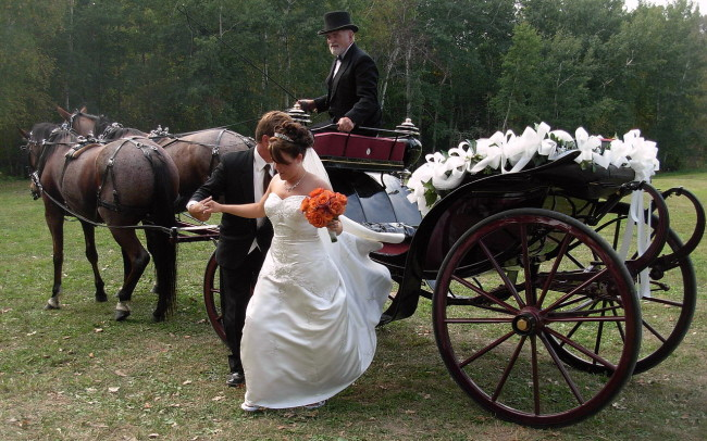 wedding cart